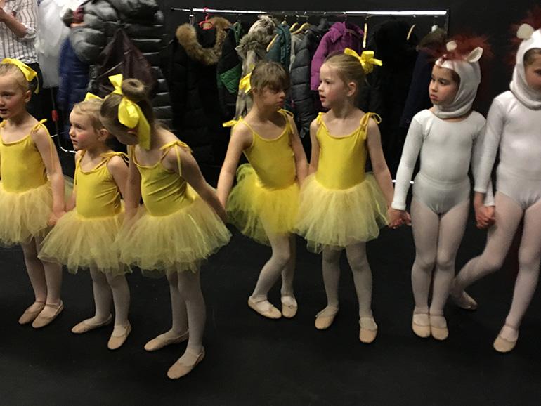 Inklusives Ballett Aufführung im Pavillon Hannover
